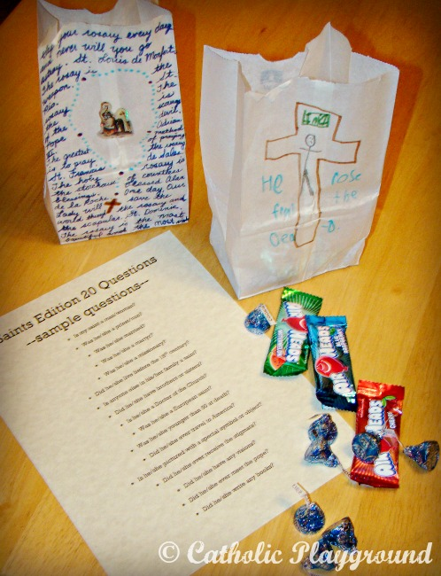 all saints day party games