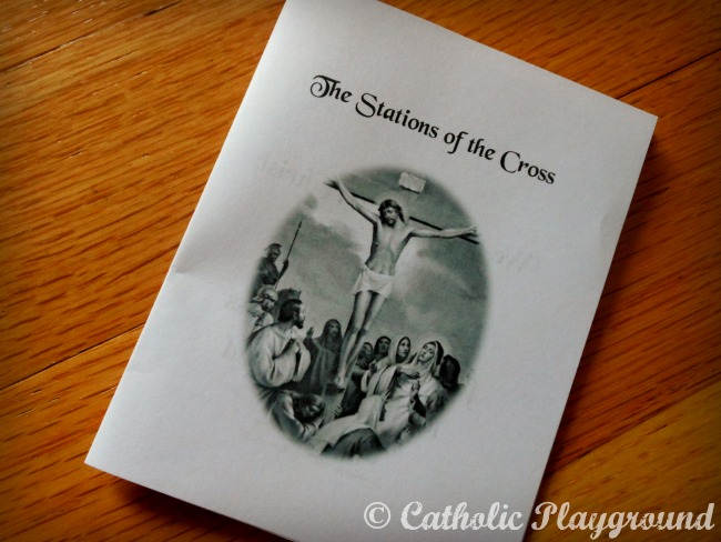little stations of the cross booklet