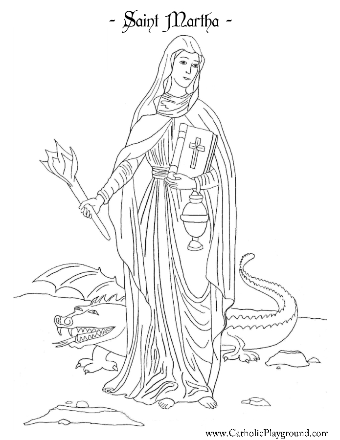 mary martha lazarus coloring pages | Martha Mary And Lazarus Colouring Pages Sketch Coloring Page