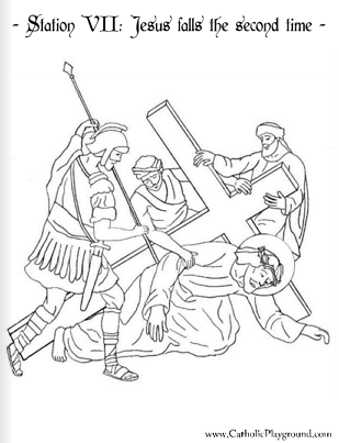 2nd Station Of The Cross Clipart | Search Results | Calendar 2015